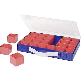 Assortment case (L x W x H) 332 x 232 x 55 mm Alutec No. of compartments: 24 variable compartments