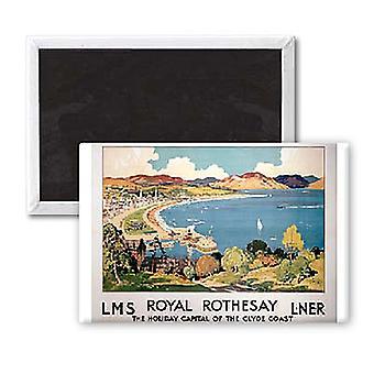 Royal Rothesay Fridge Magnet