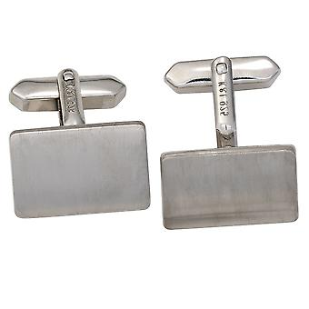 Cufflinks cuff link 925 sterling silver rhodium plated finish