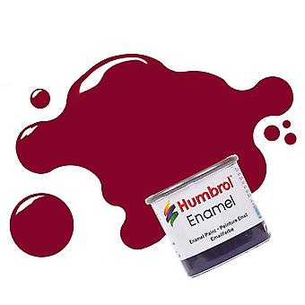 Humbrol Enamel Paint 14ML No 133 Brown - Satin