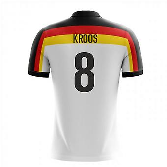 2018-2019 Germany Home Concept Football Shirt (Kroos 8) - Kids