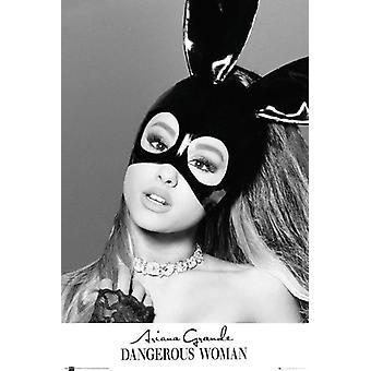 Ariana Grande masker Poster Poster afdrukken