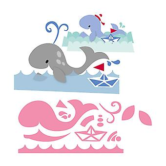 Marianne Design Collectables Eline's Whale Die, Pink