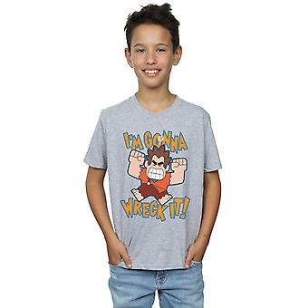 Disney Boys Wreck It Ralph I'm Gonna Wreck It T-Shirt