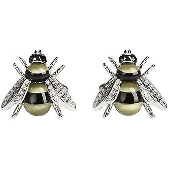 Simon Carter Darwin Bee Cufflinks - Gold/Black