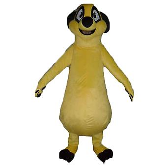 mascot SPOTSOUND of Timon, famous character of the lion king