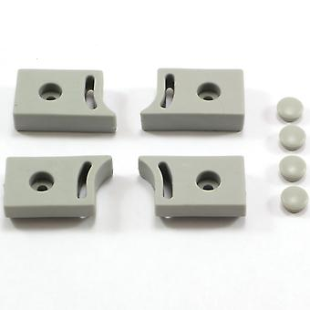 Shower Door Roller Stopper Set of 4