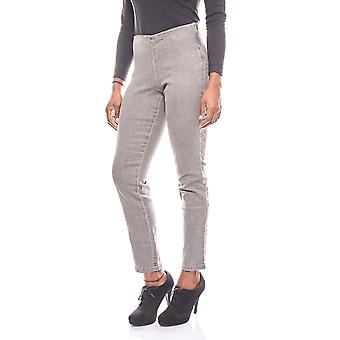 Cheer simple ladies Jeggings short size grey