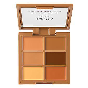 NYX Prof. Make-up 3 c Palette verbergen richtigen Kontur tief