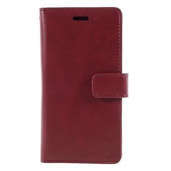 iPhone X Mercury Goospery Mansoor wallet pouch-Wine