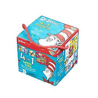 Dr Seuss cubo juego de 4 en 1 para preescolar 3 años + Paul Lamond juegos