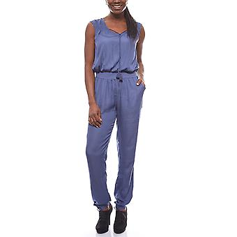 Laura Scott of slightly transparent ladies jumpsuit jumpsuit Blau