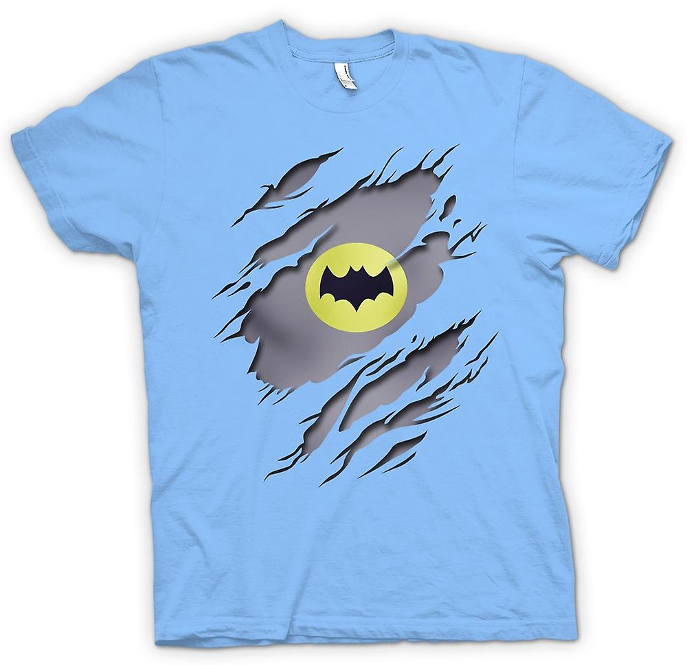 Heren T-shirt - Batman onder Shirt Effect - film Superhero