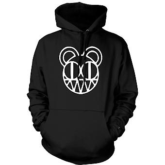 Womens Hoodie - Radiohead - Radio On Head