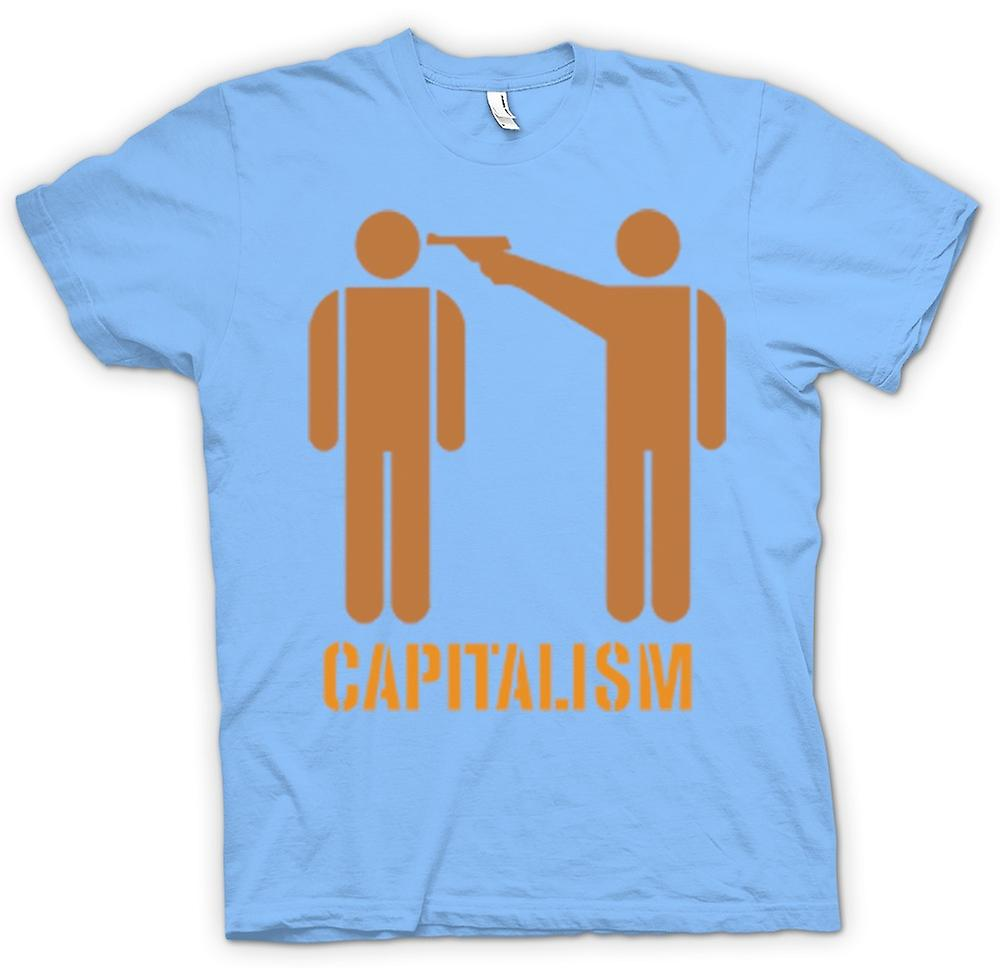 Hommes T-shirt - capitalisme Will Kill You - Anti capitalisme