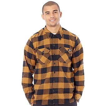 Dickies braun Duck Sacremento Long Sleeved Shirt