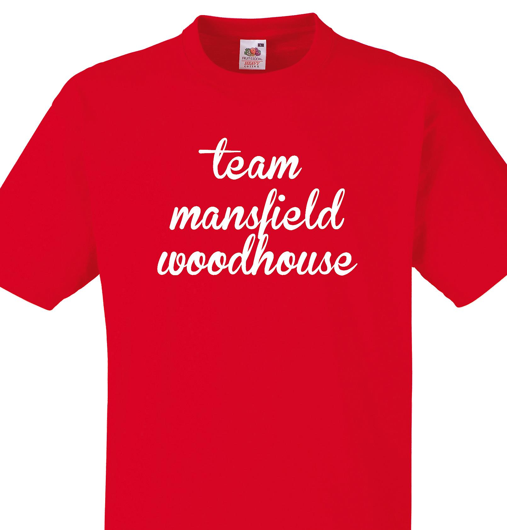 Team Mansfield woodhouse Red T shirt
