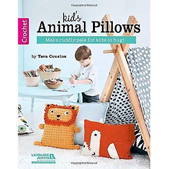 Kids' Animal Pillows: Make Cuddly Pals for Kids to Hug!