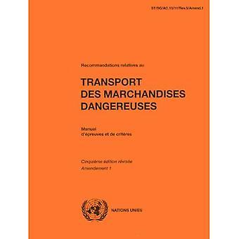 Aanbevelingen familieleden Au Transport Des Marchandises Dangereuses