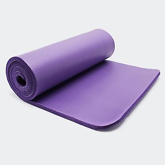 Tapis de yoga sol fitness aérobic pilates gymnastique épais antidérapant violet 180 x 60 x 1 5 cm 0716004