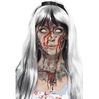 Zombie Flüssiglatex Kit Halloween Make Up Fancy Dress