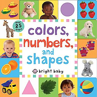 Lift-The-Flap Tab: Colors, Numbers, Shapes (Lift-The-Flap Tab Books) [Board book]
