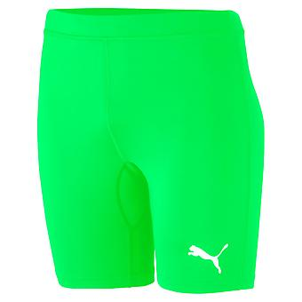 PUMA LIGA Baselayer ShortTight Jr Kinder Laufhose Leggings Pepper Grün