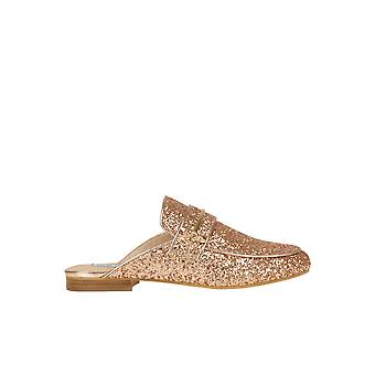 Steve Madden Pink Leather Slippers