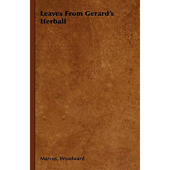 Leaves from Gerards Herball by Woodward & Marcus