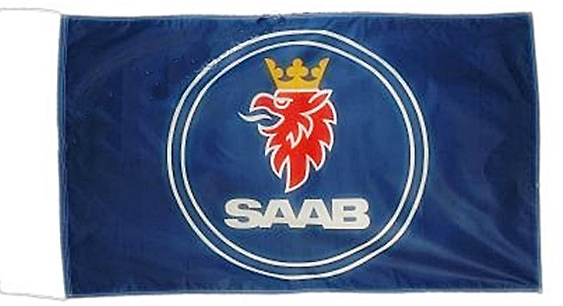 Large Saab nylon flag   1500mm x 900mm  (of)