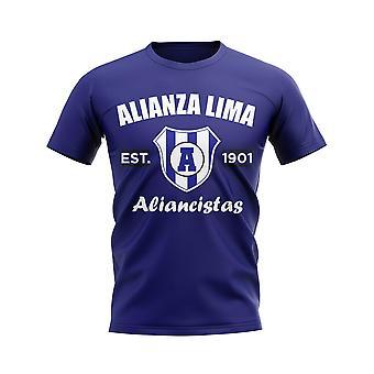 Alianza Lima Established Football T-Shirt (Navy)