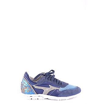 Mizuno Blue Leather Sneakers