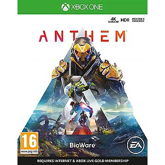 Jeu de l'hymne Xbox One
