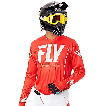 Fly Racing Red-Grey 2018 Lite Hydrogen MX Jersey