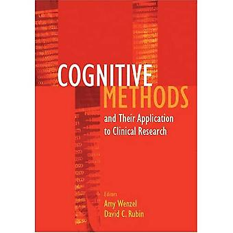 Cognitive Methods and Their Applications to Clinical Research