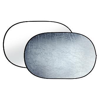 BRESSER BR-TR8 Faltreflektor silber/weiß 100x150cm