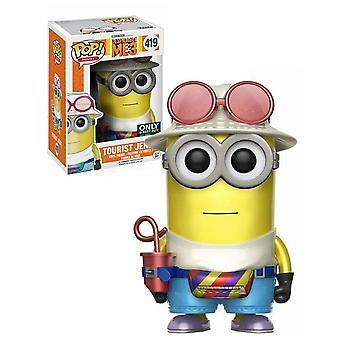 Despicable Me 3 Tourist Jerry Metallic US Pop! Vinyl