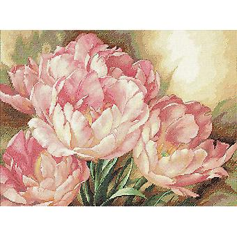 Gold Collection Tulip Trio Counted Cross Stitch Kit 16