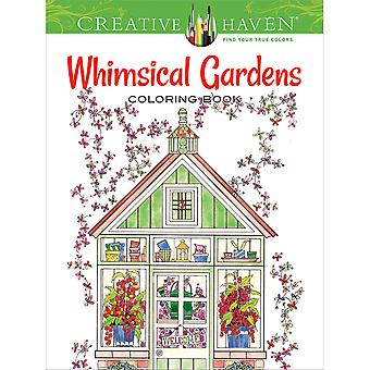 Dover Publications-Creative Haven Whimsical Gardens DOV-79675