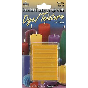 Concentrated Candle Dye 3 4 Ounce Blocks Yellow 110000D 61