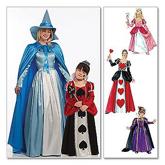 Misses' Children's Girls' Storybook Costumes  Kid [ 3  4  5  6  7  8 ] Pattern M5954  Kid