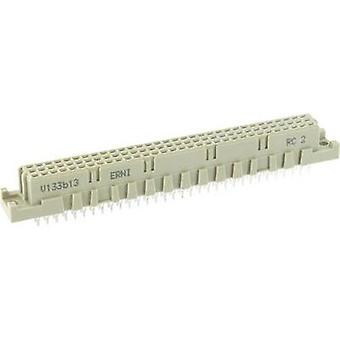 Edge connector (receptacle) 204752 Total number of pins 96 No. of rows 3 ERNI 1 pc(s)