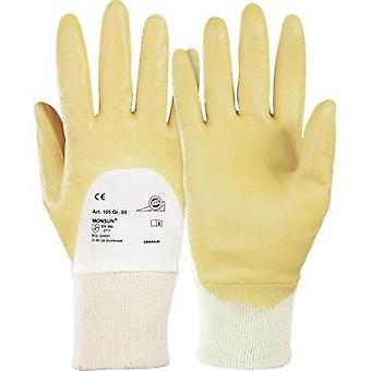 KCL 105 Monsoon gloves 100% Polyamide with nitrile coating