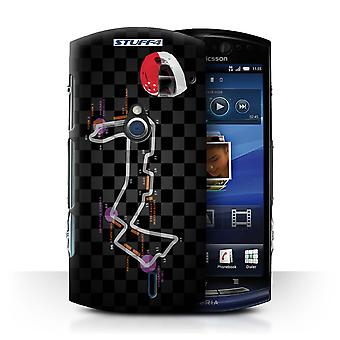 STUFF4 Case/Cover for Sony Xperia Neo/MT15i/Singapore/2014 F1 Track