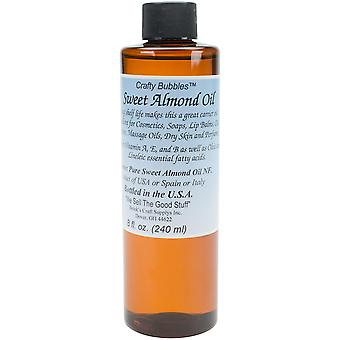 Sweet Almond Oil 8oz-  CB64