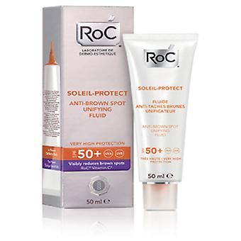 Roc Protect Soleil 50 + 50 Ml Fluid Stains