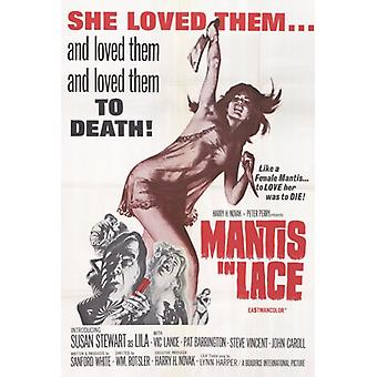 Mantis in Lace Movie Poster Print (27 x 40)
