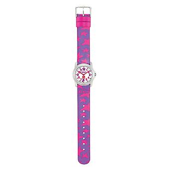 Scout child watch learning charity DKMS purple and pink girls watch 280307000