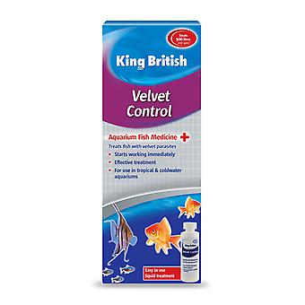 Controllo di velluto re britannico acquario 100ml
