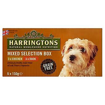Harringtons våde blandet smag pakke 6x150g (pakke med 4)